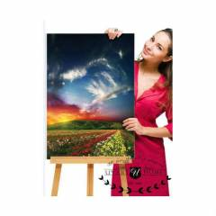 B�Y�K EBAT 60X90 KANVAS DUVAR TABLO ���EK CANVAS