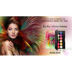 *Sleek Rio Rio � D�V�NE Limited Palette NEW 2014