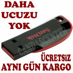 SANDISK CRUZER BLADE 8 GB FLASH BELLEK