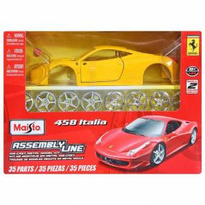Maisto 458 �talia 1:24 Model Araba Maket Kit Sar
