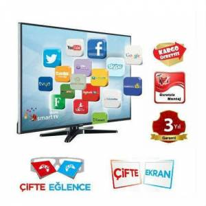 VESTEL 50PF8175 ��FT EKRAN 3D SMART 400 HZ LEDTV