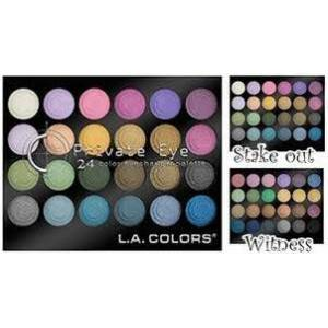 L.A. Colors W�TNESS 24 L� FAR PALET� Hediyeli !