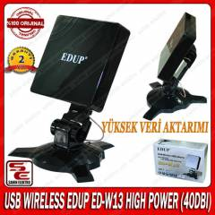 USB WIRELESS EDUP ED-W13 HIGH POWER (40DBI)