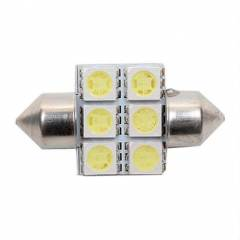 AMP�L SOF�T  6LED  BEYAZ 12V 31mm