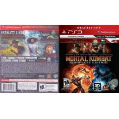 MORTAL COMBAT KOMPLETE EDITION PS3 OYUN MK9