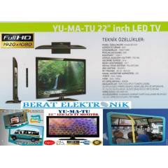 "Yumatu 22"" (57cm) Full HD Usb Led TV ASKI HED�Y"