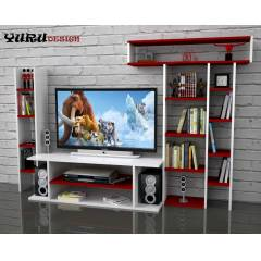 Yurudesign Vission Lcd Led Tv �nitesi Sehpa Raf
