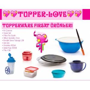TUPPERWARE PREST�J K�T ��ER��� S�PER FIRSAT