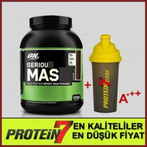 ON Serious mass 2727 gr Muz Aromal� + SHAKER
