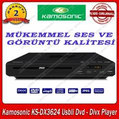 Kamosonic KS-DX3624 Usbli Dvd - Divx Player