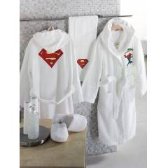 ACASS�A HOME SUPERMAN �OCUK BORNOZ SET� 4-6 YA�