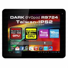 Dark EvoPad R9724 16GB And4.1 Tablet Pc /OUTLET/