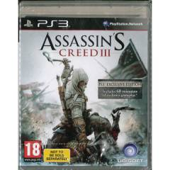 Assassins Creed 3 PS3 +PAL+SIFIR+HEMEN KARGO