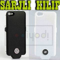 APPLE iPHONE 5 �ARJLI KILIF BATARYA KAPAK 2500MH