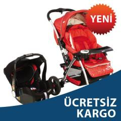 KRAFT EL�TE (2 Y�NL�)TRAVEL S�STEM BEBEK ARABASI