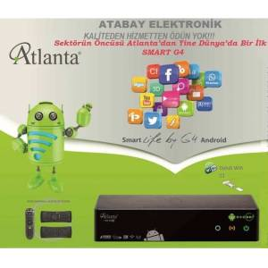 Atlanta HD Box Smart G4 Android-Hybrid Klavyekum