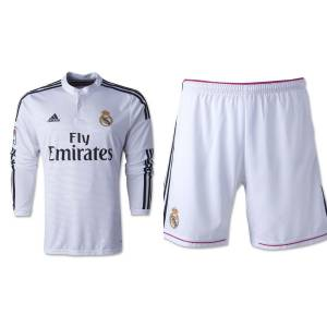 2014-2015 Real Madrid UzunKol FORMA ve �ORT Home