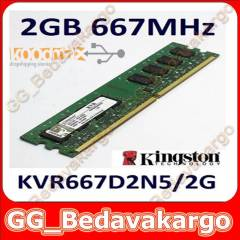 2 GB DDR2 667 Mhz Kingston Masa�st� Ram S�f�r