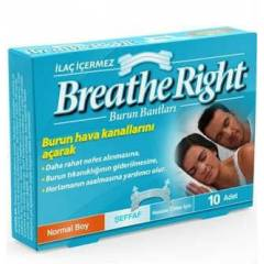 Breathe Right Burun Bantlar� Hassas Ciltler