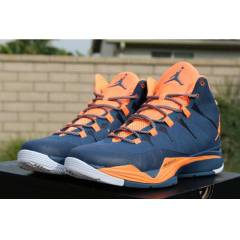 JORDAN SUPERFLY 2 NEW SLATE BLUE ATOMIC ORANGE