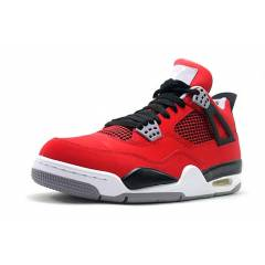 AIR JORDAN IV 4 RETRO FIRE RED BLACK CEMENT GREY