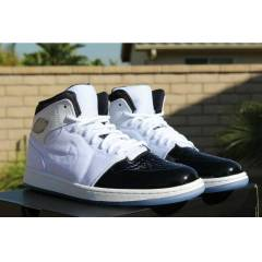 AIR JORDAN 1 RETRO 95 TXT WHITE BLACK DARK