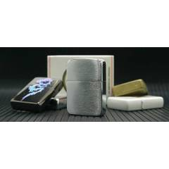 Zippo 1941B Replica Brushed Chrome �akmak + Ta�