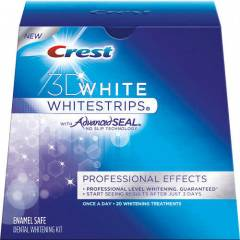 Yeni Crest 3D Whitestrips Professional Effects