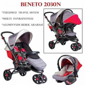 Beneto 2040N �� tekerli Travel Set Bebek Arabas�