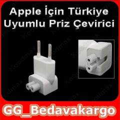 Apple Macbook �arj Soket �evirici Priz Ucu