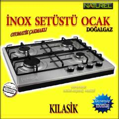 Naturel 404cr �NOX KLAS�K �akmakl� set�st� ocak