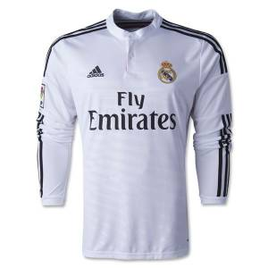 2014-2015 Real Madrid Uzun Kollu FORMA Home