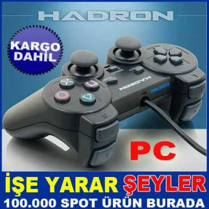 HD302 HADRON T�TRE��ML� KONTROL PC OYUN KOLU KD