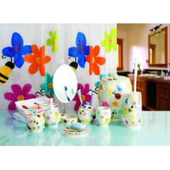 PR�MANOVA BUGS �N BLOOM 7 PAR�A BANYO SET�