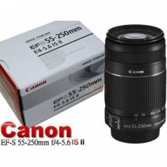 CANON EF-S 55-250mm.f/4-5.6 IS II LENS+HED�YELER
