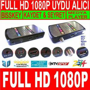 W�ZTECH FULL HD 1080P METAL KASA UYDU ALICI