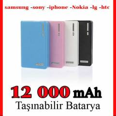 POWERBANK 12000 mAh Samsung Iphone Batarya �arj�