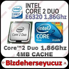 iNTEL Core 2 Duo E6320 i�lemci 775 Pin