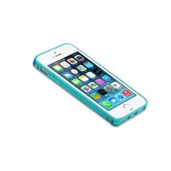 Remax iPhone 5/5s Metal Bumper Koruma Kab� Ye�il