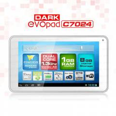 Dark EvoPad C7024 7'' �ift �ekirdekli Tablet PC