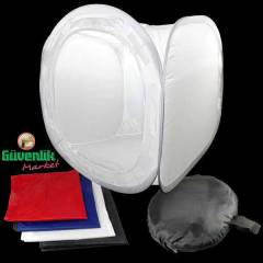 Soft Box - Light Tent - I��k �ad�r�  60x60x60cm