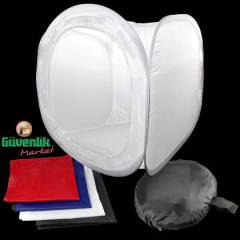 Soft Box - Light Tent - I��k �ad�r� 75x75x75cm
