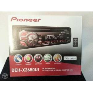 P�oneer DEH-X2650UI CD USB Android Mixtrax Teyp