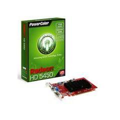POWERCOLOR HD5450 1GB D3 64B HDMI DVI