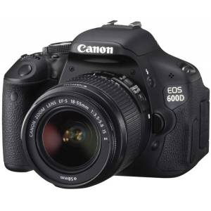 CANON EOS 600D 18Mp 18-55 DC Lens Kit Full HD