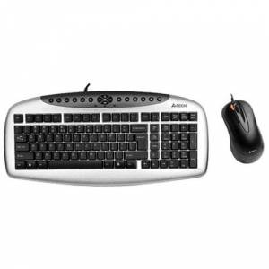 A4 TECH KB2150D KIT (KB21+OP50) SET PS/2 G�M��