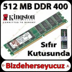 KINGSTON 512MB 400Mhz DDR Pc Ram