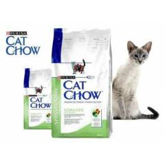 Purina Cat Chow Sterilized with Turkey 15Kg