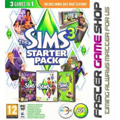 The Sims 3 Starter Pack Origin Key Stokta
