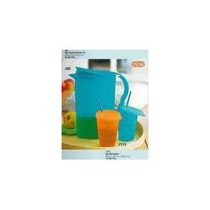 TUPPERWARE eko tip top s�rahi+2 pipetli bardak